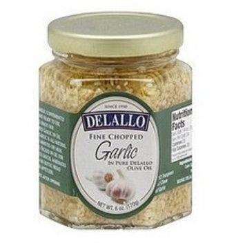 Delallo Chopped Garlic in Oil, 6 Ounce -- 12 per case.