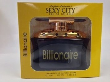 Instyle Parfums 20048988 Sexy City Billionaire For Men EDT Spray Window Box