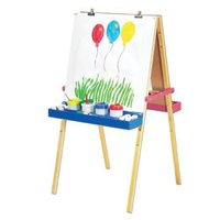 Melissa and Doug Deluxe Wooden Standing Art Easel Ages 3 +