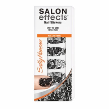 Sally Hansen Salon Effects Nail Stickers, Lacey Does It, 18 ea