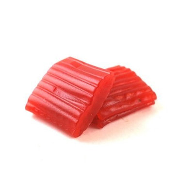 Tubi's Red Tire Tread Licorice Bar, 2-Ounce (Pack of 42)