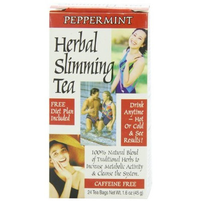 21st Century Slimming Tea, Peppermint, 24 Count