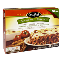 Stouffer's Farmers Harvest Whole Grain Meat Sauce Lasagna
