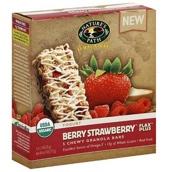 Nature's Path Organic Berry Strawberry Granola Bar