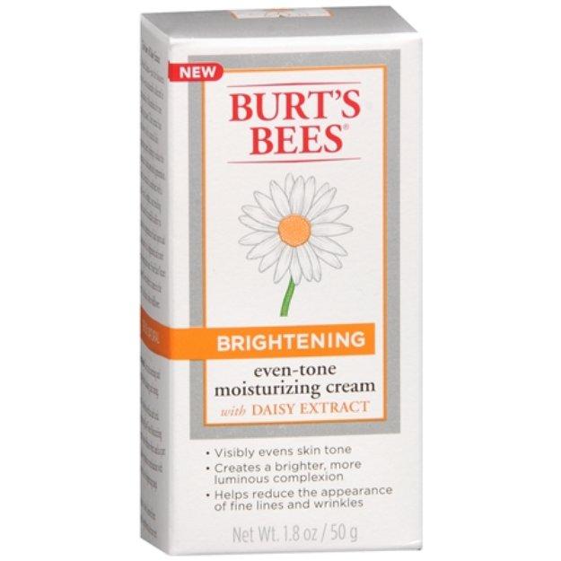 Burt's Bees Brightening Even Skin Tone Moisturizing Cream 1.8 oz