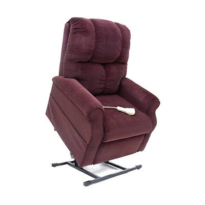 Walgreens 3-Position Lift Chair Recliner with Heat and Massage Merlot
