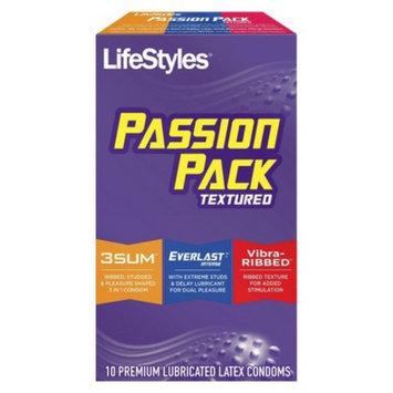 LifeStyles Passion Pack Lubricated Condoms