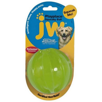Doskocil Manfuacturing Company JW Play Place Squeaky Ball Dog Toy Large