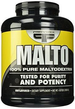 Primaforce MALTO100% Pure Maltodextrin Unflavored - 4.07 lbs