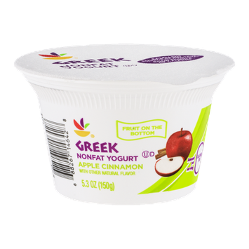Ahold Greek Nonfat Yogurt Apple Cinnamon
