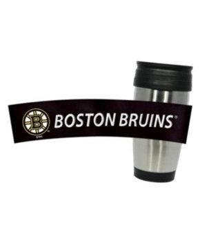 Hunter Manufacturing Boston Bruins Travel Mug: 15 oz Stainless Steel Travel Tumbler Hunter Manufacturers