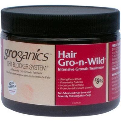 Groganics Hair Gro-N-Wild, 6 Ounce