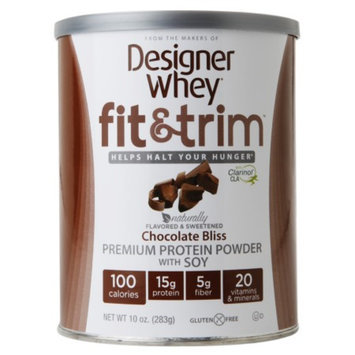 Designer Whey Fit & Trim Chocolate Bliss