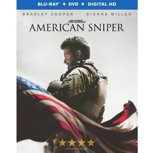 American Sniper (Blu-ray + DVD + Digital HD) (Walmart Exclusive) (With INSTAWATCH)