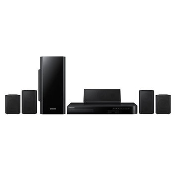 Rje Trade International, Inc. Remanufactured Samsung 5.1-Channel Blu-Ray Home Theater System W/ WIFI and Smart TV Apps-HT-HM55