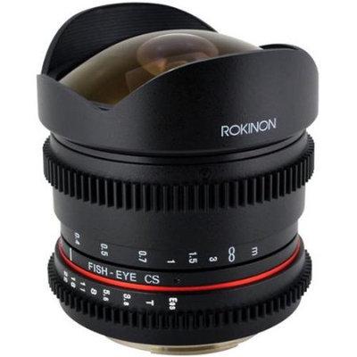 Rokinon 8mm T/3.8 Cine Fisheye Lens (for Video DSLR Sony Alpha E-Mount Cameras)