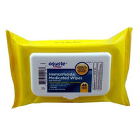 Equate - Hygienic Cleansing Wipes, 48 Wipes with Aloe, Compare to Preparation H Medicated Wipes