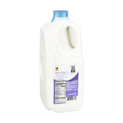 Ahold Slim Delux Calcium Enriched Fat Free Milk