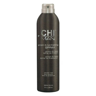 CHI Man Groom and Hold Finishing Hair Spray for Unisex, 8 Ounce