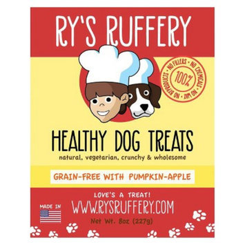 Ryan's Barkery Shark Tank Ry's Ruffery Healthy Dog Treats - Pumpkin Apple