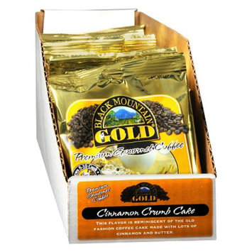 Black Mountain Gold Premium Gourmet Coffee Cinnamon Crumb Cake,20 Pack