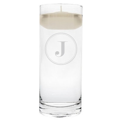 Cathy's Concepts Circle Initial Unity Candle J