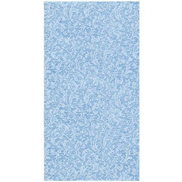 King Zak Ind Lillian Tablesettings 24355 Blue Texture Bistro Napkin - 360 Per Case