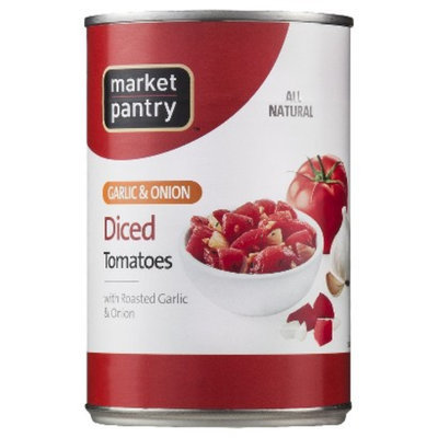 market pantry Market Pantry Diced Tomatoes with Roasted Garlic & Onion - 14.5 oz.