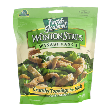 Fresh Gourmet Wonton Strips Wasabi Ranch