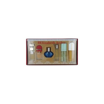 WOMENS VARIETY by Parfums International Gift Set for WOMEN: 6 PIECE MINI VARIETY WITH RED DOOR EDT .33 OZ & MEDITTERANEUM EDP .33 OZ & PROVOCATIVE EDP .33 OZ & FIFTH AVENUE EDP .33 OZ & SUNFLOWERS EDT .5 OZ & GREEN TEA EDP .5 OZ & ALL ARE SPRAYS
