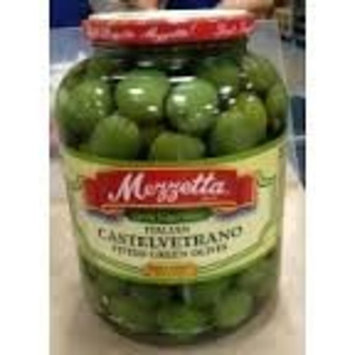 Mezzetta Italian Castelvetrano Pitted Green Olives 25oz