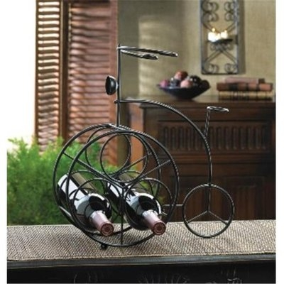Zingz & Thingz 57071215 Vintage Bicycle Wine Rack