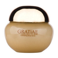 Gratiae Organic Beauty By Nature Exfoliating Body Scrub - Apple Green Tea and Ginger.
