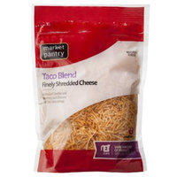 Market Pantry Finely Shredded Mexican Style Taco Blend Cheese - 8 oz.