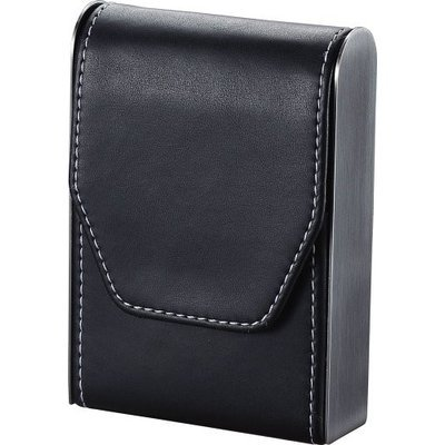 Visol VCM302 Bolivia Black Leather Cigarette Pack Holder