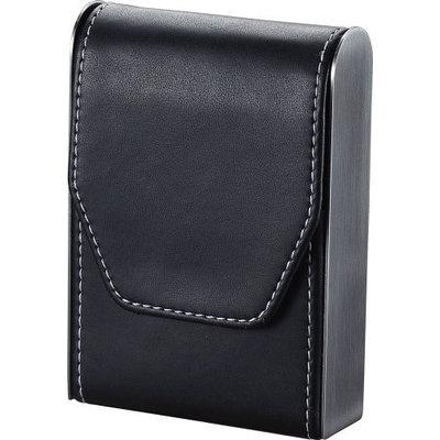 Visol VCM302 Bolivia Black Leather Cigarette Pack Holder