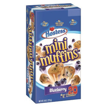 Hostess Blueberry Mini Muffins 20 ct