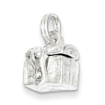 Cellini, Inc goldia Sterling Silver Cross Prayer Box Charm
