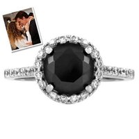 Emitations Carrie's Faux Black Diamond Ring - Inspired by Sex & the City 2, 8, 1 ea