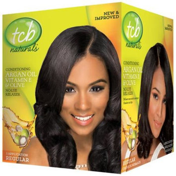 TCB Naturals Conditioning No-Lye Relaxer Kit, Regular