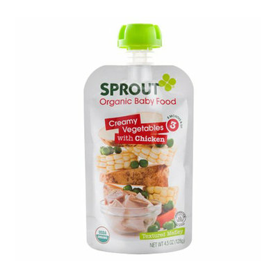 Sprout Creamy Vegetables with Chicken Organic Baby Food