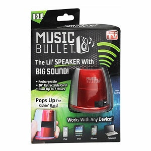 Music Bullet Portable Speaker