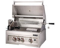 Sunstone 3-Burner Natural Gas Gas Grill with Integrated Smoker Box SUN3BIRNG