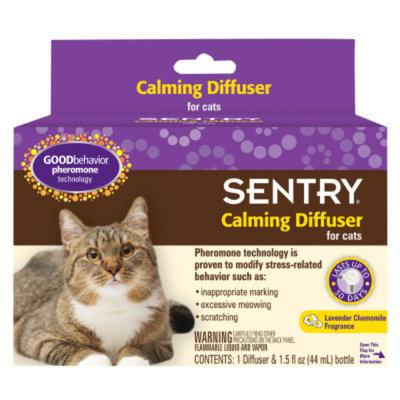 Sentry SENTRYA GOOD BehaviorA Lavender Chamomile Cat Calming Diffuser
