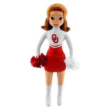 Bleacher Creatures University of Oklahoma Football Cheerleader Plush