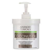 AsWeChange Coconut Oil Moisturizing Cream, 16 Oz.