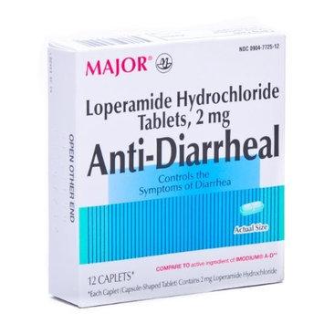 Imodium Anti Diarrhea Caplets 12/box