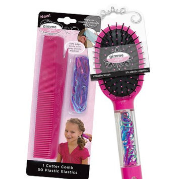 Gimme Clips Brush and Comb Combo