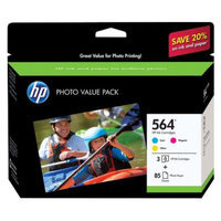 HP 564 Series 3-ink Photo Value Pack - (CG925AN#140)