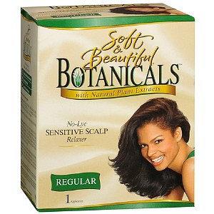 Soft & Beautiful No-Lye Sensitive Scalp Relaxer
